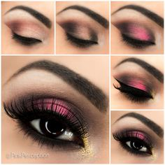 Pink Smokey Eye Step By Step Tutorial | Pink Perception.