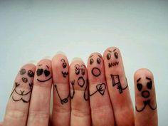 Finger People Together