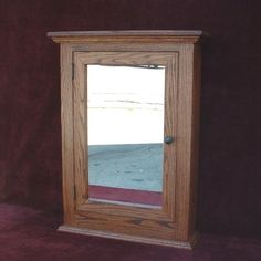 Medicine Cabinet Classic Solid Oak Hand Crafted  by OnlyOak