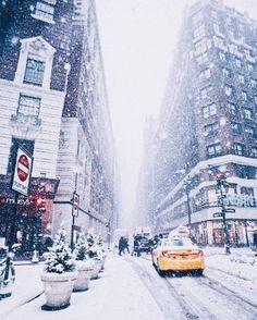 Super Photography Winter Christmas New York Ideas Winter Szenen, Winter Time, New York Winter, Winter Travel, Winter In Nyc, New York Snow, Nyc Snow, New York Weihnachten, Photography Winter