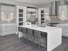 Check out this crucial image and also browse through today relevant information on Minimalist Home Remodel Contemporary Kitchen, Condo Kitchen, Home Decor Kitchen, Kitchen Room Design, Interior Design Kitchen, Ikea Kitchen Design, Kitchen Layout, Grey Kitchen Colors, Modern Kitchen Design