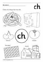 Ph Digraph Worksheets Digraphs worksheets Color flashcards