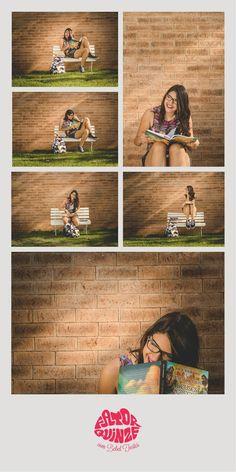 15 anos - fotografia de 15 anos - fotos de 15 anos - 15th birthday - óculos - livros #15anos #fotografiade15anos