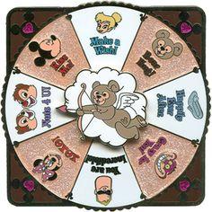 Love is Magical - Cupid Spinner Jumbo Disney Pin