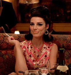 Megan Don Draper, Mad Men Fashion, Ann Margret, Beautiful People, Fashion Outfits, Rock, Tv, Clothes, Style