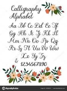 schriftarten buchstaben - The little thins - Event planning, Personal celebration, Hosting occasions Alphabet A, Fonte Alphabet, Calligraphy Letters Alphabet, Handwriting Alphabet, Hand Lettering Alphabet, Calligraphy Handwriting, Islamic Calligraphy, Letters Tattoo, Number Calligraphy