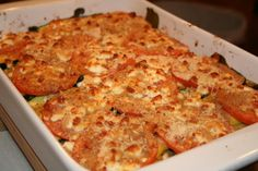 PRINT I had a hankering for a veggie casserole but I didn't want to go with the usual heavy cream or cheese sauce. The idea of layerin. Casserole Recipes, Meat Recipes, Asian Recipes, Vegetarian Recipes, Dinner Recipes, Ethnic Recipes, Dinner Ideas, Recipies, Veggie Lasagna