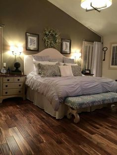 LOVE this flooring!!  Acacia Hardwood Flooring- Natural