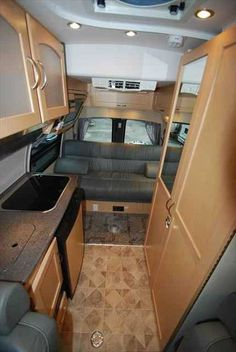 eb15510eaf18aad0fd8d2b7b2c0d67a4 leather seats dinette pleasure way industries the ford excel class b motorhome interior  at gsmx.co