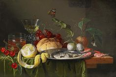 Dutch Masters Still Life | This framed painting is for sale. Please contact us on +44 (0)207 493 ...