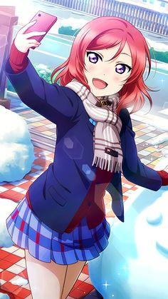 Anime Love, Anime Girlxgirl, Manga Anime Girl, Kawaii Anime Girl, Me Me Me Anime, Manga Characters, Anime Films, Maki Nishikino, Anime Stars