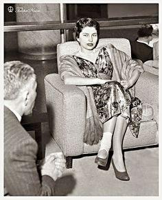 Empress Soraya Pahlavi At San Souci Hotel - Miami Beach 1955 (A) by Tulipe Noire, via Flickr