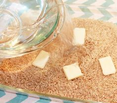 Quick, easy fool-proof oven brown rice