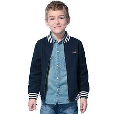 LeoLily Big BoysCotton Twill Baseball Blazer Jacket With Lining 12 * Read more  at the image link.Note:It is affiliate link to Amazon. #home