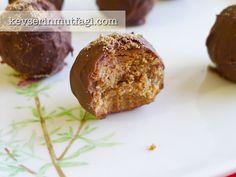 Kahveli Çikolata Topları Tarifi