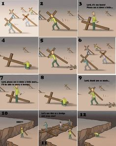 Jesus waits for You We start our life journey with Jesus. We get attracted to the 'FUN' of this world We say to Jesus: I wil. Christian Cartoons, Christian Memes, Christian Life, Jesus Cartoon, Bibel Journal, Bible Verses Quotes, Faith Quotes, Scriptures, God Jesus