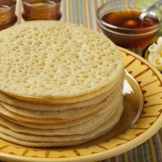 How to cook Pancakes on hot plate _ Bulgarian Recipe