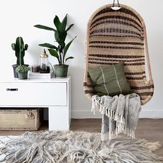 The coziest corner we'd love to cuddle up in.