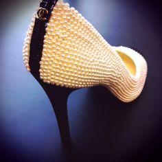 Chanel Pearl Heels ♥