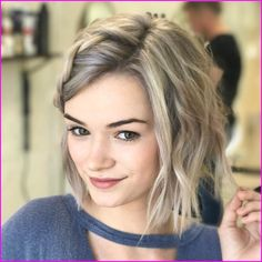 Short Blonde Hairstyle Ideas for Women 2019 Haircut Styles For Women, Short Hair Styles For Round Faces, Hairstyles For Round Faces, Short Hair Cuts For Women, Short Hairstyles For Women, Curly Hair Styles, Bob Hairstyles 2018, Edgy Haircuts, Short Pixie Haircuts