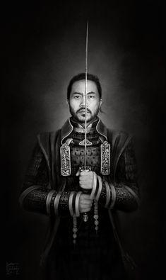 admemento: Samurai Digital Painting 2o11 - logangaiarpg