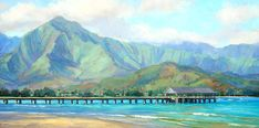 Hawaii Painting, Hawaiian Art, Thing 1, Sale Poster, Best Artist, Traditional Art, Fine Art America, Scenery, Paisajes
