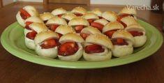 Rovešťanské žabky - Recept Hot Dogs, Ethnic Recipes, Food, Basket, Essen, Meals, Yemek, Eten