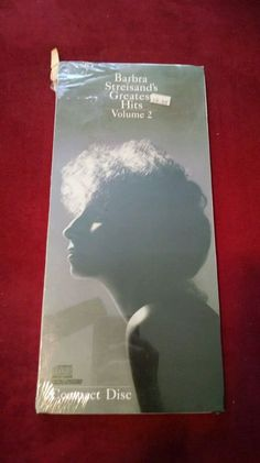 """Barbra Streisand - """"Greatest Hits, Volume 2"""" (1978), sealed long box from the late 80s/early 90s"""