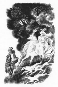 Nika Goltz. Illustrations for Scottish Folk Tales.