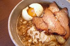 simple ramen but packed with a punch