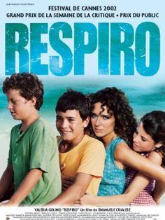 """""""Respiro"""" d'Emanuele Chalese avec Valeria Golino et Vicenzo Amato.(2002). Sur l'île de Lampedusa,une jeune femme éprise de liberté s'accommode  mal des conditions villageoises.A voir et à revoir."""