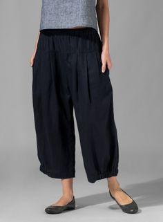 Linen Harem Pants  (so cute for uniform!)