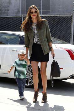 Especial shopping para el Día de la Madre con madres famosas: Miranda Kerr