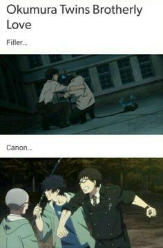 Ao no Exorcist / Rin And Yukio / Blue Exorcist
