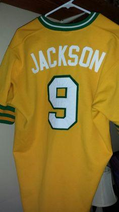 Reggie Jackson #9 Oakland A's #Athletics