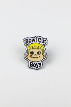 Bowl Cut Boys pin