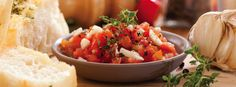 Recipe for Health: Italian Bruschetta
