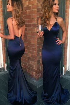 Sexy Mermaid Navy Blue Backless Sheath Prom Dress from wendyhouse Navy Prom Dresses, Mermaid Prom Dresses, Backless Prom Dresses, Prom Dresses Blue, Prom Dress Prom Dresses 2019 Navy Blue Prom Dresses, Prom Dresses For Teens, Backless Prom Dresses, Mermaid Prom Dresses, Dance Dresses, Sexy Dresses, Elegant Dresses, Navy Blue Formal Dress, Navy Blue Satin Dress