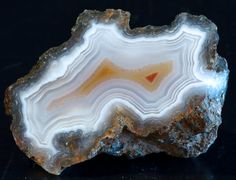 Lovely Polished Mexican Lace Agate