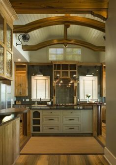 Rustic Kitchen Design Ideas and Decor by Interior Architecture :: Herlong & Associates :: Coastal Architects, Charleston, South Carolina