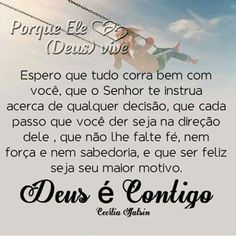 Deus e contigo sempre