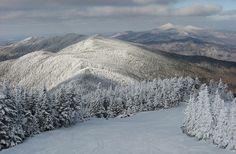 Sugarbush Ski Mountain in Vermont.