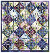 """Quilt Inspiration: """"Modern Linoleum"""" and the Quilters Connection"""
