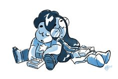 From (Steven Universe) Storyboard artist Joe Johnston: sleepy buddies