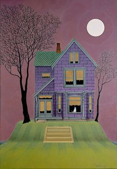 """House Cat, Oil on Canvas on Panel, 40"""" x 27 1/2"""", 2007"""