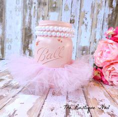Ballerina centerpieceballerina partyballerina by TheRustiqueNail