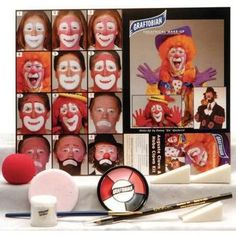 Auguste Clown & Hobo Creme Makeup Kit