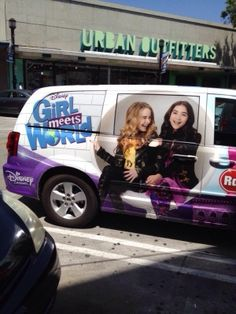 radio disney. Picture of Sabrina Carpenter and Rowen Blanchard from Girl Meets World.