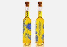 visual identification of sunflower oil