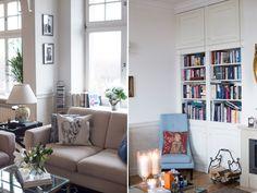 modern classic home, photo: Kasia Bobocińska Classic House, Modern Classic, Couch, Furniture, Home Decor, Settee, Decoration Home, Sofa, Room Decor